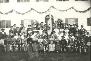 Gruppenfoto aus dem Jahr 1924