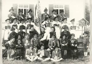 Gruppenfoto aus dem Jahr 1947