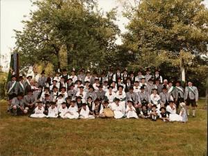 Gruppenfoto aus dem Jahr 2003